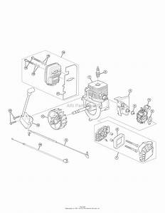 Mtd 41as99ms799  316 791600  Parts Diagram For Engine Assembly