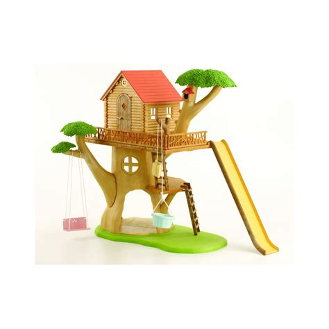 treehouse  sylvanian families  fits  log cabin  ebay