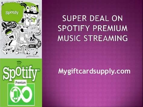 Spotify Premium Super Deal Music Streaming Great Gift For 12 Year Old Boy Photo Travel Mug A Teacher Craft Ideas To Sell Wrap Up Free Play Funny Unique Get Well Basket Delivery India Review