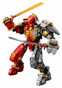 71720 lego ninjago mech building set 968