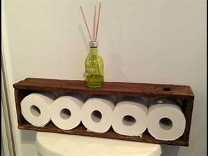 Rangement Papier Wc : rangement papier toilettes id e inspirante ~ Teatrodelosmanantiales.com Idées de Décoration