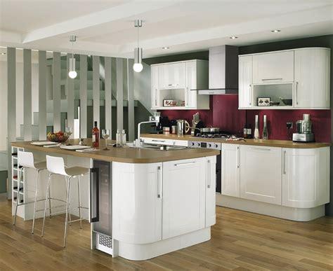 Burford Gloss White Kitchen