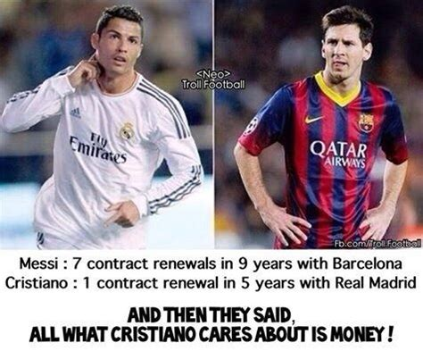 Cr7 Memes - what are some of the best cristiano ronaldo vs lionel messi memes pictures or jokes quora