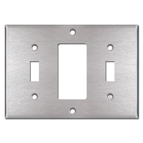 2 toggle 1 rocker switch plate toggle decora toggle wall switch plate cover 8970
