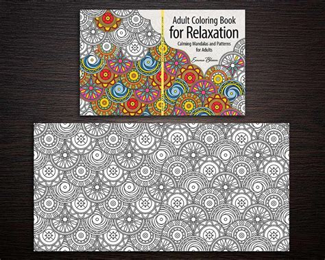 Adult Coloring Book Series Cover Design