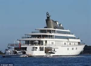 Leonardo DiCaprio Cuts A Lonesome Figure Aboard His 450ft