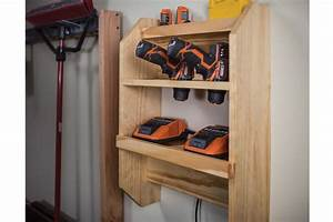 Cordless Tool Charging Station
