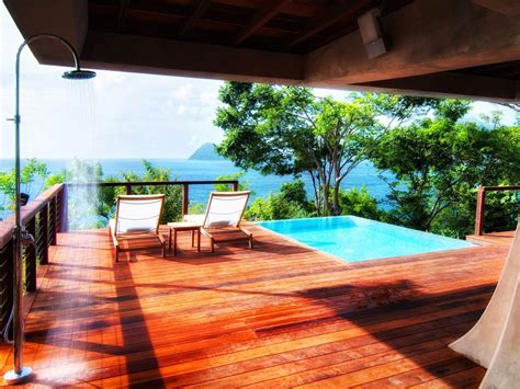 caribbean resorts  private plunge pools  conde nast traveler