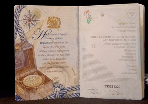 Where Is My Us Passport Book Number Located On My Passport