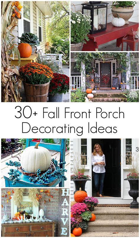 Decorating Ideas For Fall Outside by Fall Decorations For Outside House Of Hawthornes