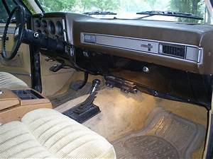 1987 Chevy Blazer Interior