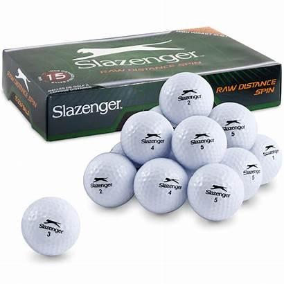 Balls Golf Slazenger Distance Raw Spin Ball