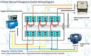3 Phase Change Over Switch Wiring Diagram