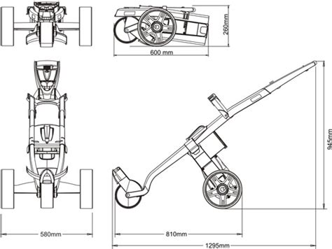 le c 244 t 233 technique gokart golf trolley