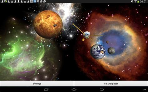 How To Create Animated Wallpaper For Android - 3d space live wallpaper android apps on play