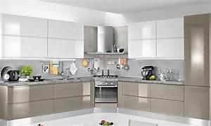 Cucine Moderne Cucine Moderne Laccate Lucide Bianche Ispirazioni Design dell'architettura