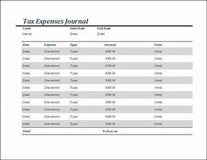 Easy Org Chart Template Free You Can Use The Tax Expense Journal Template To Make The