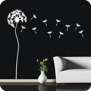 Wandtattoo Pusteblume Weiß : wandtattoo pusteblume l wenzahn wandtattoo blumen pflanzen ~ Frokenaadalensverden.com Haus und Dekorationen
