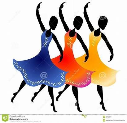 Dancing Clip Clipart Tanzen Femmes Donne Frauen