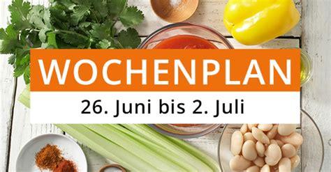 gesunde ernährung rezepte wochenplan gesund essen der wochenplan f 252 r kw 26 eat smarter