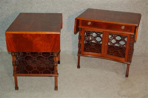 canapé angleterre paire de bouts de canapé en acajou angleterre antiquités
