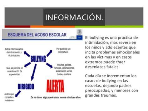 Más Información Sobre El Bullying Informaciondeinfo