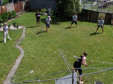 Aussie Backyard - parramatta takes 7 backyard wickets in frightening