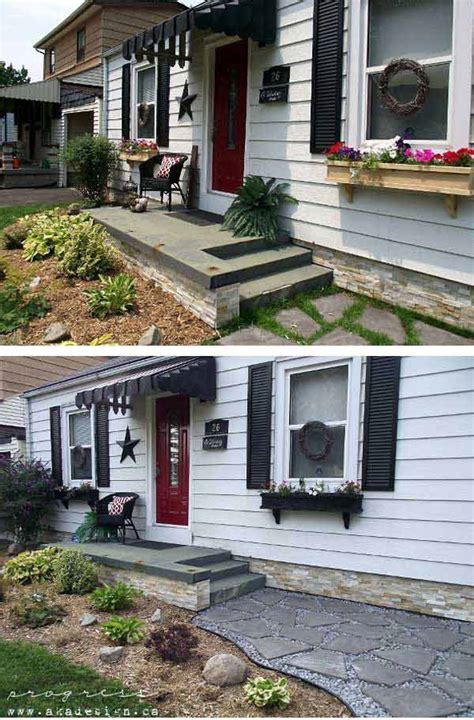 easy  cheap diy ways  enhance  curb appeal