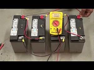 Batterie En Serie : wiring batteries in series and youtube ~ Medecine-chirurgie-esthetiques.com Avis de Voitures