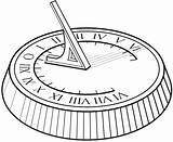 Sundial Clipart Drawing Numero Nisi Serenas Horas Non Clip Explore Paintingvalley Lazy Count sketch template