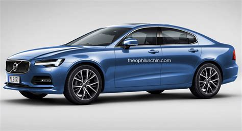 Future Volvo S60 by New Volvo S60 Envisioned As A Smaller S90