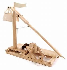 Leonardo Da Vinci Wooden Invention Kits: Trebuchet ThinkGeek