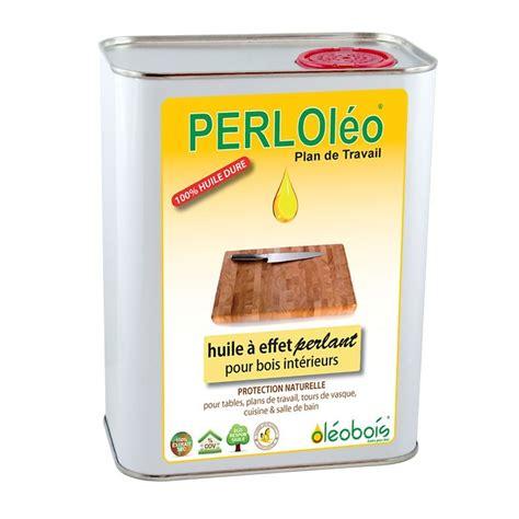 protection plan de travail bois cuisine perloléo plan de travail huile dure naturelle de