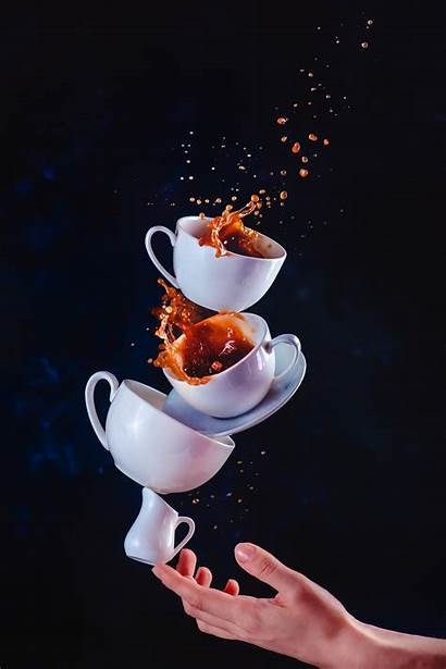 Coffee Creative Splashes Dina Belenko Still Levitating