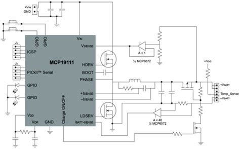 battery management controllers charging li ion microchip technology