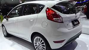 Iims 2014  New Ford Fiesta 2015  Exterior  U0026 Interior View