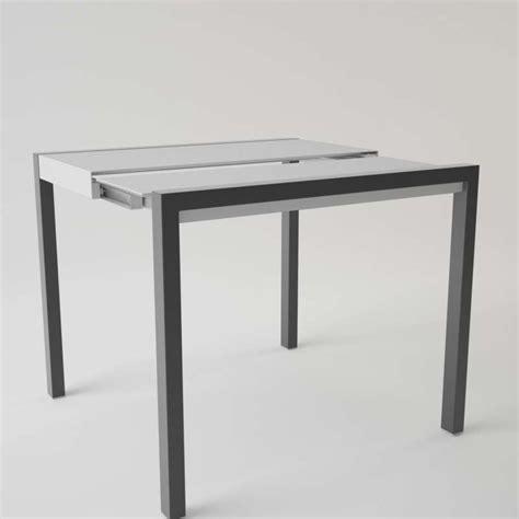 table cuisine petit espace table en verre extensible pour petit espace concept