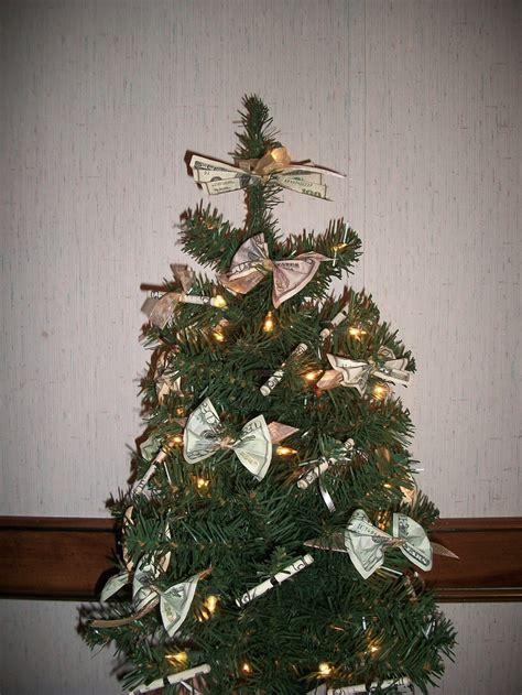 money christmas tree gift ideas pinterest
