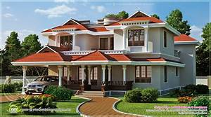 Home Design Beautiful Home Exterior In Square Feet Kerala