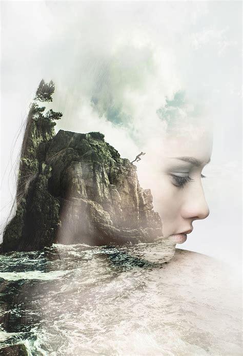 beautiful double exposure artworks    create