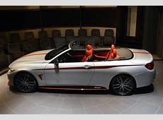 BMW 435i Convertible Gets Orange M Performance Kit