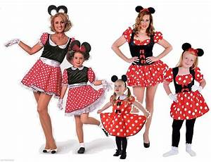 Mickey Mouse Kostüm Selber Machen : micky mickey minny minni minnie maus mouse disnay kleid kost m damen kinder baby ebay ~ Frokenaadalensverden.com Haus und Dekorationen