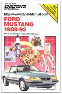 Chilton Ford Mustang 1989