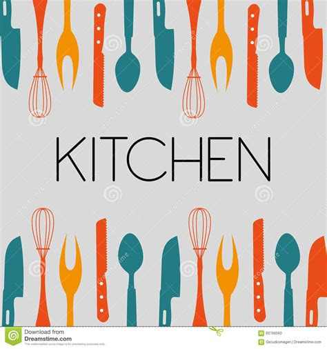 outil de cuisine outil de cuisine illustration de vecteur illustration du