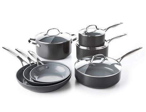 wearever ceramic nonstick cookware set  piece