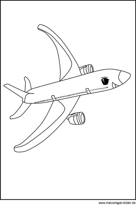 flugzeug kostenlose ausmalbilder zum ausdrucken und ausmalen