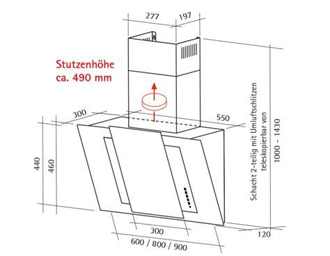 Schräge Dunstabzugshaube Montagehöhe by Schr 228 Ghaube 6