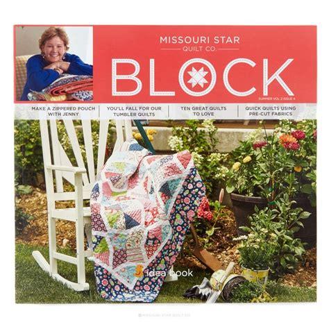 missouri quilt company address missouri quilt co block book vol 2 issue 4