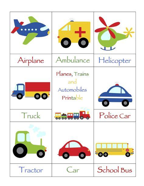 preschool printables automobile theme 1 50 to 153 | b46140eaf3c3ea85c376d1fd5af96930