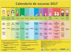 Calendario de Vacunas 2017